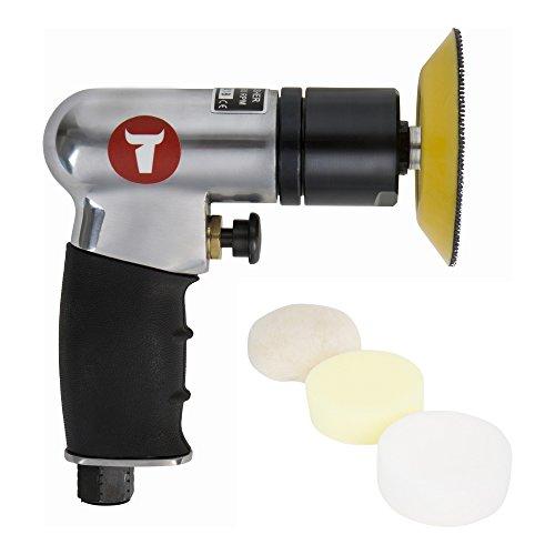 STIER Mini-Polier-Satz, MP-25, Länge 130 mm, 6-teilig, verschiedene Polierscheiben, für Polier- und Ausbesserungsarbeiten geeignet