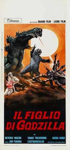 Son Of Godzilla Poster 02 Photo A4 10x8 Poster Print
