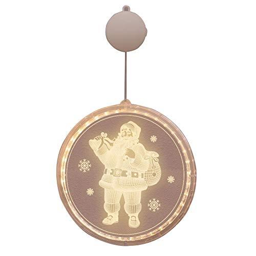 Xaviera Bulbs Christmas Tree Lamp, Santa Claus Star Shower Decorative Lights Xmas Lights Xmas Decoration Lamps