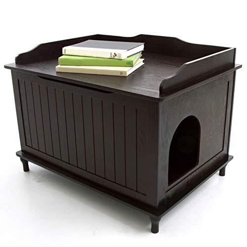 Cat box enclosure