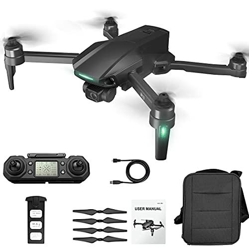LICI M10 5G WiFi 6K HD plegable con grabación de aire FPV motor sin escobillas de tres ejes autoestabilizador de 25 minutos RC dron automático secuencia de gestos foto fija Surround