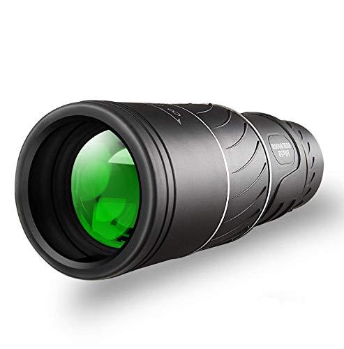 Monokulare Teleskop, HD 16x52 Zoom Monokular Wasserdicht monokular-Teleskope beschlagfest mit Smartphone Adapter Stativ für Vogelbeobachtung, Jagd, Wandern Sightseeing, Konzert Ballspiel