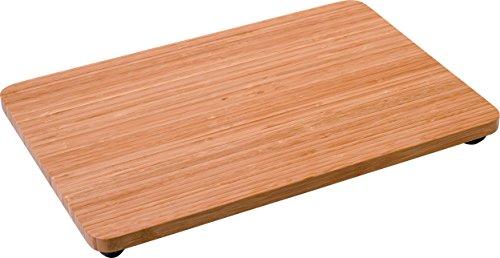 Alessi FS06 4X6 Programma 8 Tagliere, Legno di bambù, Acciaio Inossidabile
