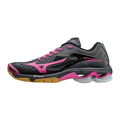 Mizuno Wave Lightning Z2 Handballschuhe Woman schwarz/pink