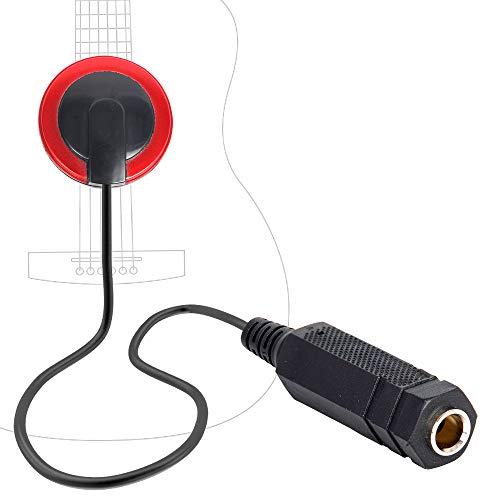 Guitar Piezo Pickup Transducer for Guitar,Ukulele,Violin, Mandolin, Banjo, Kalimba DIY Electroacoustic Converting