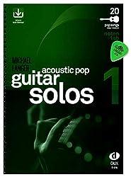 Acoustic Pop Guitar Solos Volume 1 - chansons pour guitare solo arrangées - Auteur : Michael Langer - Partitions & TAB avec téléchargement audio et Dunlop Plek - DUX878 9783868491876