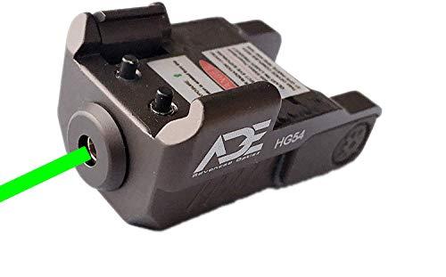 commercial Ade Advanced Optics HG54G Stroboscope Full Metal Laser Sight (for Pistol Pistol) (FDE) ade advanced optics laser