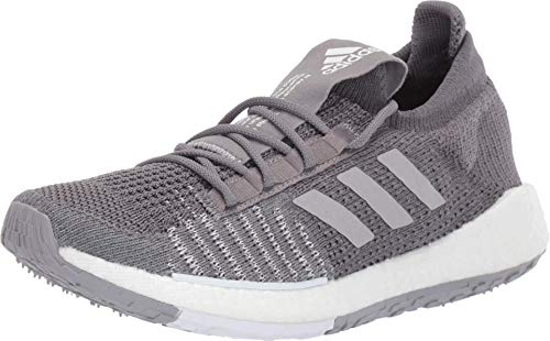 adidas Women's PulseBOOST HD Grey/Grey/White 8 B US