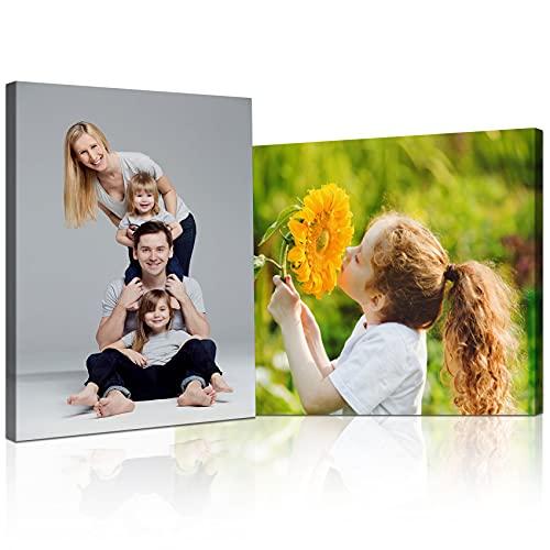 Stampa su tela personalizzata senza cornice stampa foto su tela personalizzata Personalizza le tue foto su tela quadro Personalizza con la tua foto decorazione della parete della casa 50×75cm