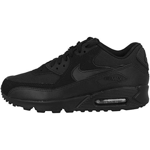 Nike Air Max 90 Essential, Scarpe da Ginnastica Uomo, Nero (Black / Black-Black-Black), 42.5 EU
