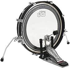 DW Design Series Maple Pancake Bass Drum - 20 Inches - Black Satin
