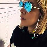 bohend boho catena di occhiali da sole bohémien tallone nappe catena per occhiali tallone accessori per occhiali per occhiali e occhiali da sole