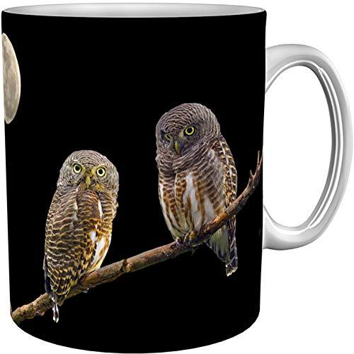 metALUm Kaffeetasse Eulen # 3300100136
