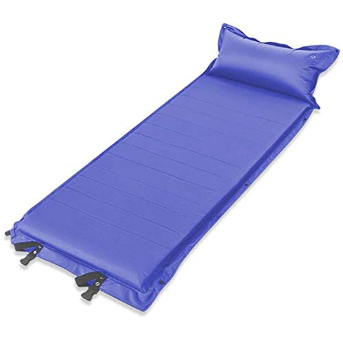 AMAIRS Self-Inflating Camping Pad, Outdoor Portable Inflatable Air Mattress Hike Beach Camping Mat Applicable Sleeping Pad Mat Tent Beach Blanket,Purple