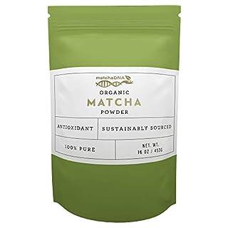 MatchaDNA Organic Culinary Matcha Green Tea Powder 16 oz (B000GB0TMW)   Amazon price tracker / tracking, Amazon price history charts, Amazon price watches, Amazon price drop alerts