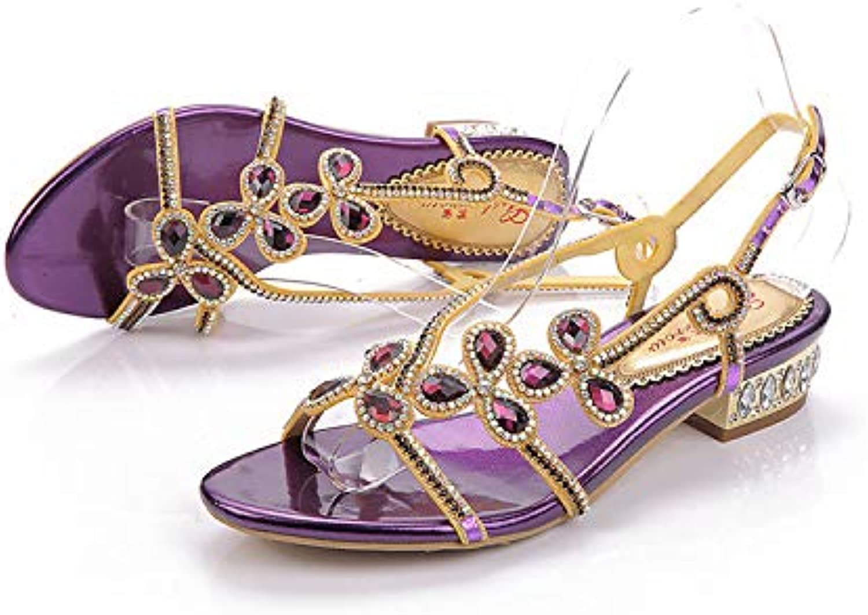 Women's shoes Polyurethane Spring Summer Fashion Boots Sandals Open Toe Rhinestone Crystal Sparkling Glitter,US6 EU36 UK4 CN36