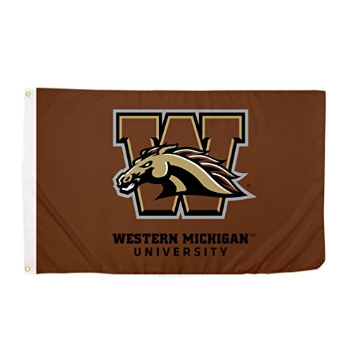 Desert Cactus Western Michigan University WMU Broncos NCAA 100% Polyester Indoor Outdoor 3 feet x 5 feet Flag
