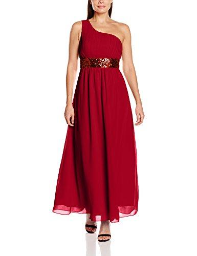 My Evening Dress Damen Grace Party - und Abendkleider, Red (Burgundy E), Size:44
