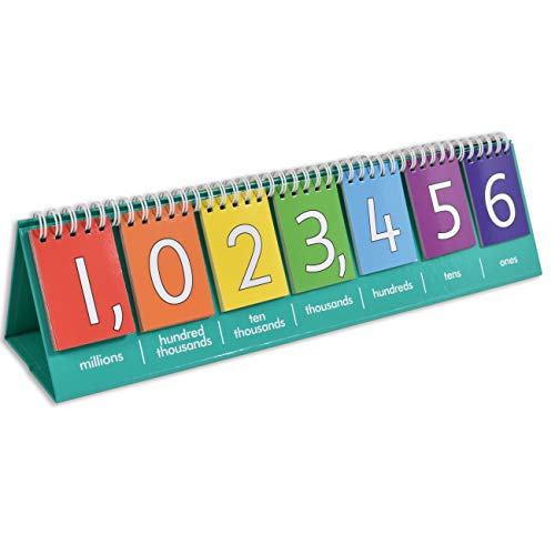 edxeducation Double-Sided Numbers Flip Chart Only $7.98 (Retail $12.99)