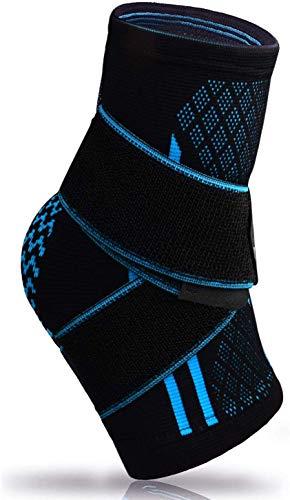 Plantarfasziitis-Socke mit Fußgewölbeunterstützung, lindert Schwellungen, Bandage für Achillessehne und Knöchel, effektive Linderung von Gelenk- und Fußschmerzen, Linderung von Fersensporn - 1 Stück