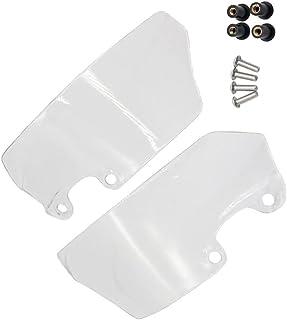 VICASKY 1 conjunto de peças de modificação de modificação de vento lateral para para-brisa de motocicleta