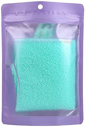 Exfoliating Scrub Paño Cuerpo Estirable Exfoliante Cuello Atrás Scrubber Baño de Ducha Herramienta de Tela Paño de baño de Masaje para Mujer y Hombre (Color: B)-B Excellent