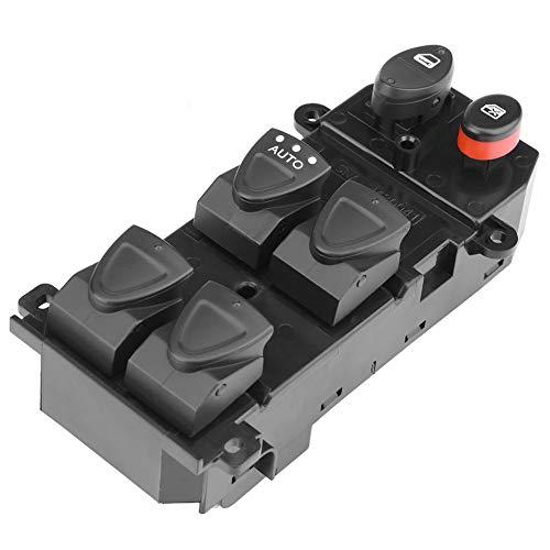 Outbit Interruttore alzacristalli elettrico - 1 PC di Sinistra Driver Side Power Master Interruttore di controllo finestra per Honda Civic 2006-2010 35750-SNV-H51(13,5 * 7 * 5,3 cm)