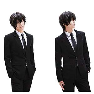 【ラベンダー】 Psycho-Pass スーツ メンズ 通勤 制服 四点セット コスプレ衣装 仮装 イベント オーダーメイド
