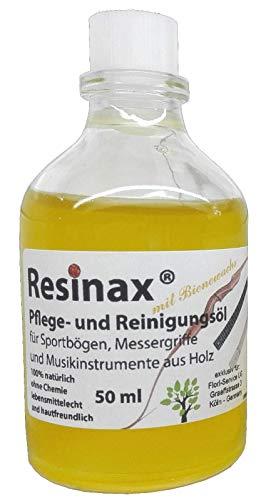 Resinax onderhoudsmiddel voor sportboog en muziekinstrumenten van hout, clean and polish, Bio