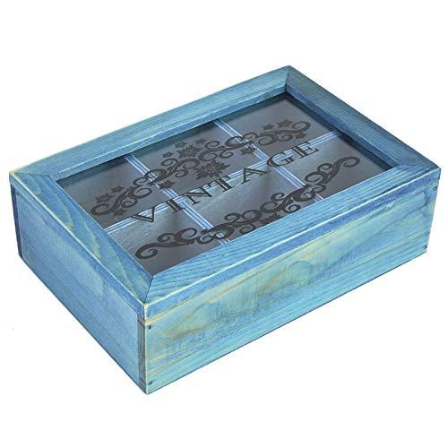 KUIDAMOS Caja de Almacenamiento Patrón de Talla Hermosa Saludable para joyería