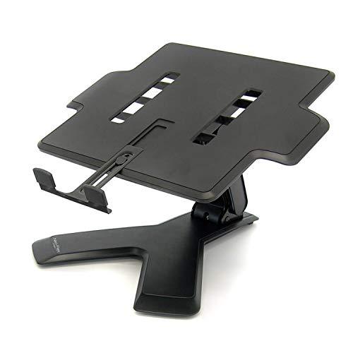 Ergotron Neo-Flex Ergonomic Laptop Stand with Adjustable Height up to 6' - Black