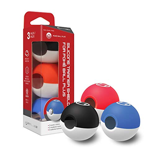 Hyperkin Silicone Trainer Shields for Poké Ball Plus (3-Pack)