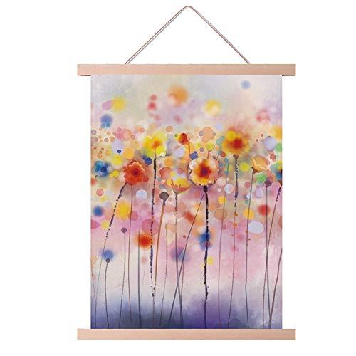 WFSH Tapiz de tela de jardín, para sala de estar, sofá, decoración de pared, fondo de cama, caja de telas, tapizado (color: C, tamaño: 50 x 65 cm)