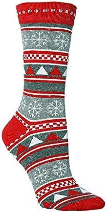 AMSKY Hot Sale!Christmas Socks For Women,Unisex Christmas Cute Cartoon Thickness Stockings Sleeping Socks,