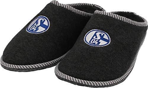 FC Schalke 04 Pantoffel, anthrazit (34-35)