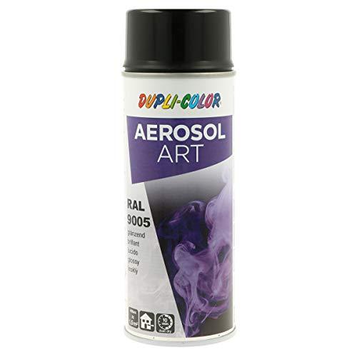 DUPLI-COLOR 733123 tiefschwarz 400 ml Aerosol Art, RAL 9005 Schwarz Glänzend
