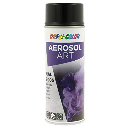 Duplicolor 733123 Aerosol Art RAL 9005 Brillant 400ml