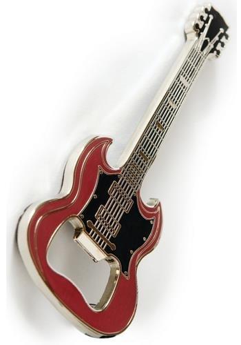 Flaschenöffner - Gitarre SG Rot