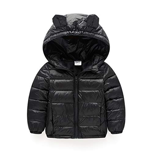 Guy Eugendssg Infant Coat Autumn Winter Baby Jackets For Baby Boys Jacket Kids Warm Outerwear Coats Black 24M