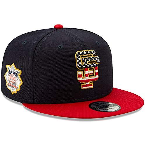 New Era San Francisco Giants 2019 Stars & Stripes 4th of July 950 9FIFTY Snapback Adjustable Cap Hat