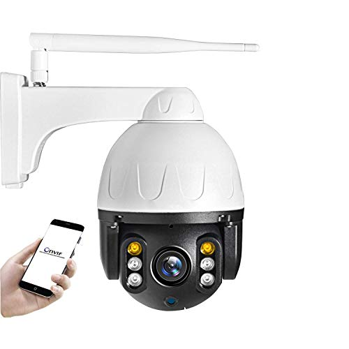 WYJW [Audio- und PIR-Sensor] WLAN-Überwachungskamerasystem HD 1080P Wireless-Überwachungssystem mit 2 1080P-Kameraüberwachungsgeräten für den Außenbereich, Zweiwege-Audio, integrierte 1