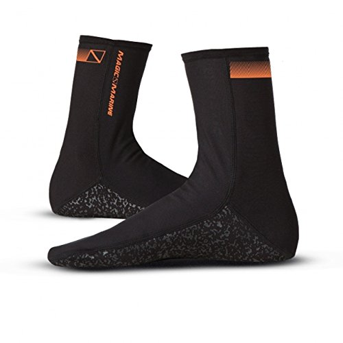 Magic Marine 1mm Metalite Neoprenanzug Socken Schwarz - Unisex