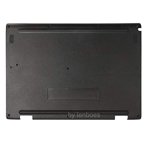 Lenboes Laptop Lower Bottom Case Base Cover Enclosure with Rubber Feet for Lenovo Chromebook 11 500e 81ES 5CB0Q79740
