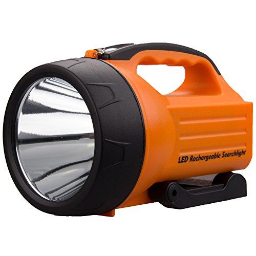 WASING 10 Watt 1000 Lumens LED Rechargeable Spotlight