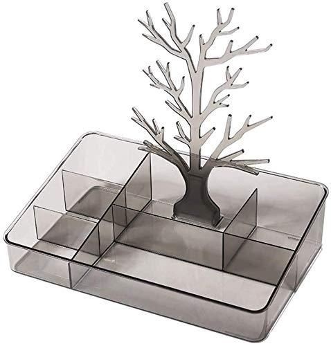 KEEBON Organizzatore di trucco Box di stoccaggio cosmetico ornamenti di stoccaggio ornamenti di rifinitura rossetto box di gioielli rack versatile smistamento scatola di stoccaggio di trucco organizza