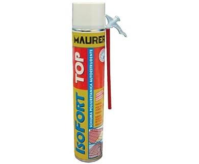 Foto di Schiuma Poliuretanica Isofort Top Maurer 750 ml per sigillare, isolare fissare