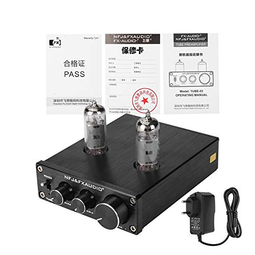 Tube Preamp Audio Hi-Fi Stereo - Hi-Fi Stereo Tube Preamp - Audioförstärkare - Vacuum Tube Mini Preamp