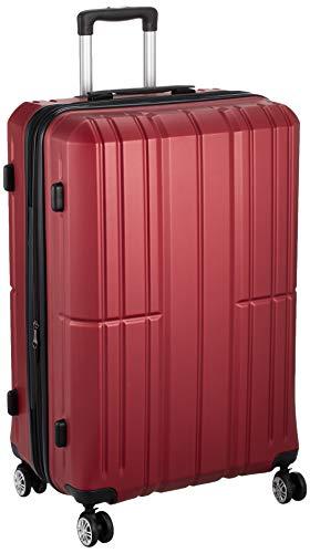 [アイダディ] 【idadi】軽量キャリーケース スーツケース M-7035 保証付 80L 70 cm 4.7kg M7035L-31 ワイン
