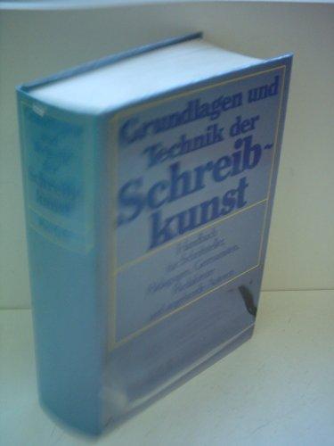 Grundlagen und Technik der Schreibkunst