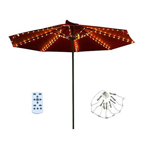 Patio LED Umbrella String Lights